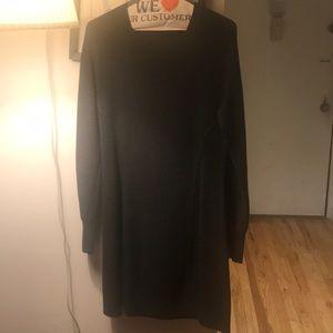 Charcoal grey club Monaco sweater dress